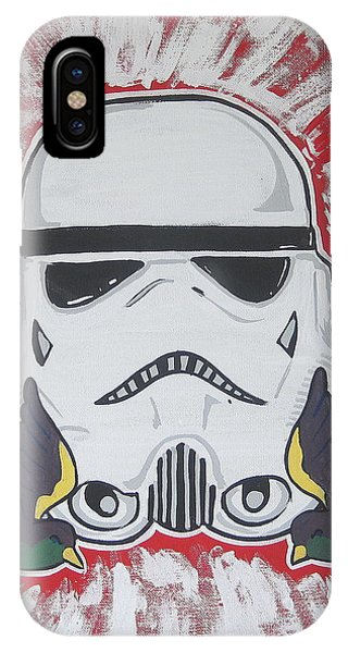 Stormtrooper Tattoo Art Phone Case by Gary Niles