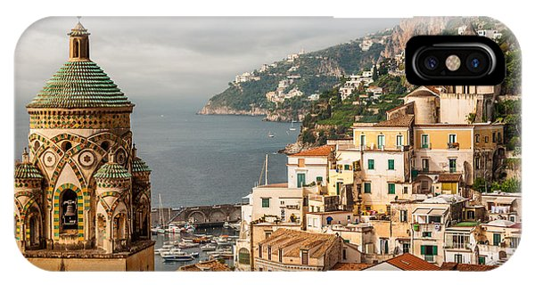 Stormy Amalfi IPhone Case