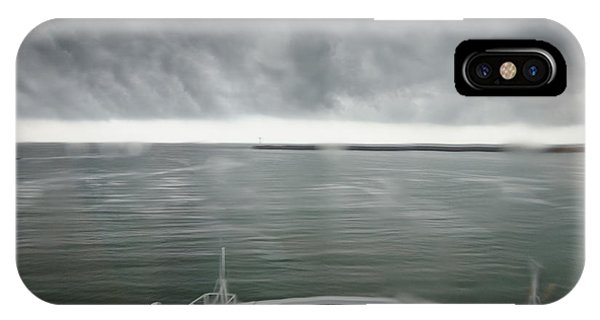 Stormy Departure IPhone Case