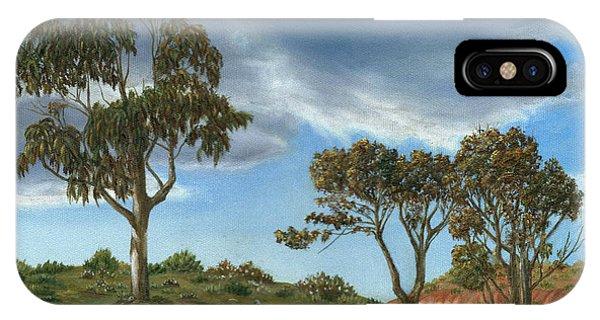 Stormy Eucalyptus IPhone Case