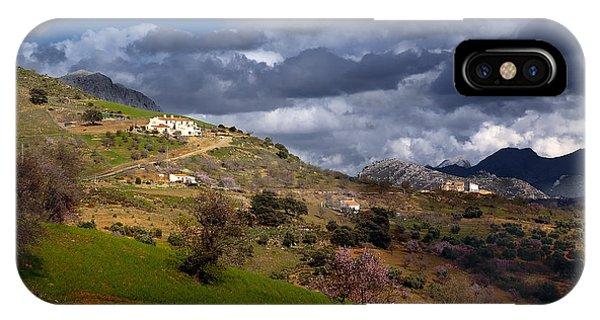 Stormy Mediterranean Landscape IPhone Case