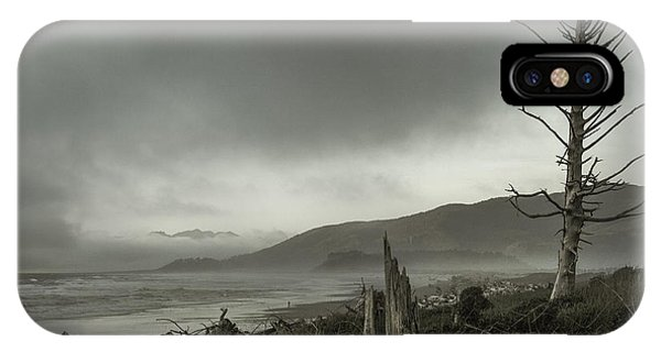 Stormy Oregon Coast Phone Case by Shawn St Peter
