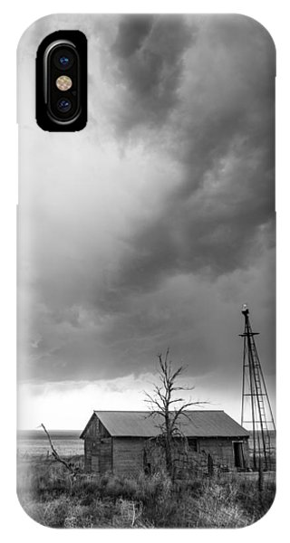 Greg Moore iPhone Case - Stormy Past by Greg Moore