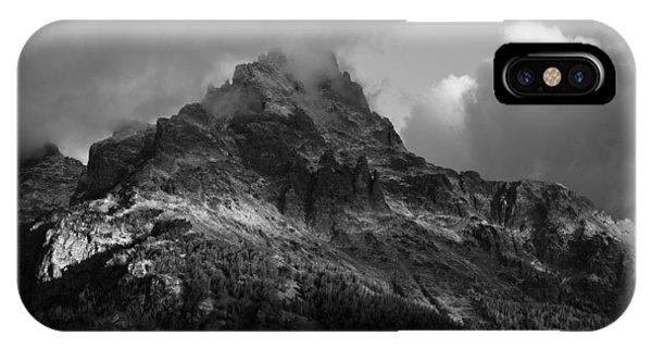 Stormy Peaks IPhone Case