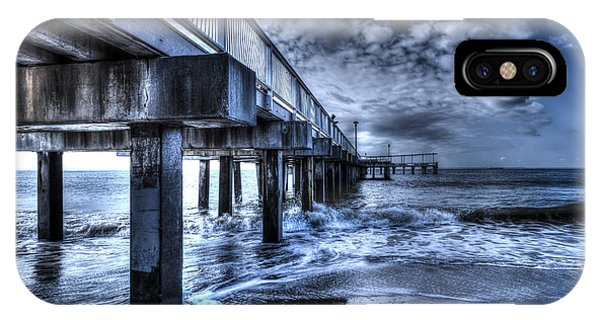 Stormy Pier IPhone Case