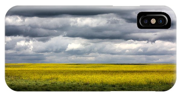 Stormy Plains IPhone Case