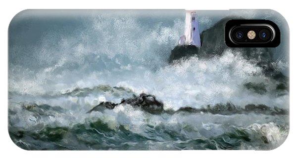 Stormy Seas IPhone Case