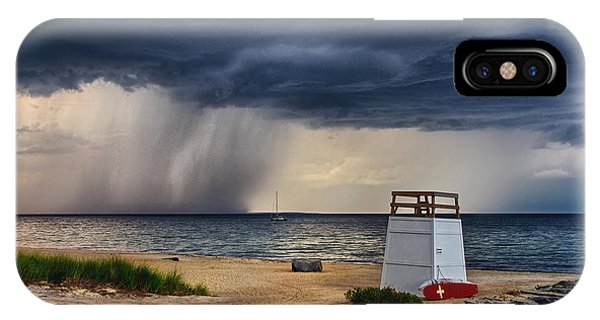 Stormy Seashore IPhone Case
