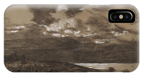 iPhone Case - Stormy Sky by Winslow Homer
