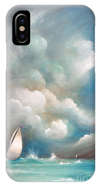 Stormy Sunday IPhone Case