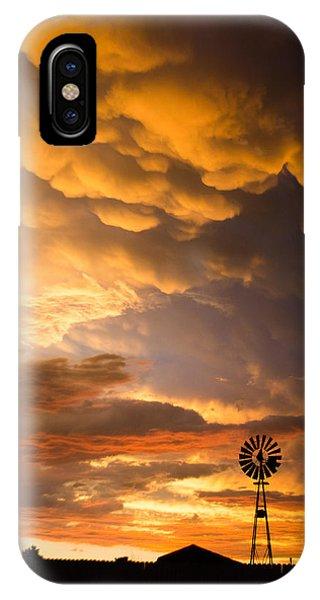 Stormy Sunrise IPhone Case