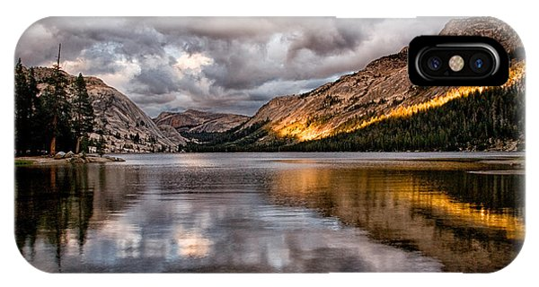 Stormy Sunset At Tenaya IPhone Case