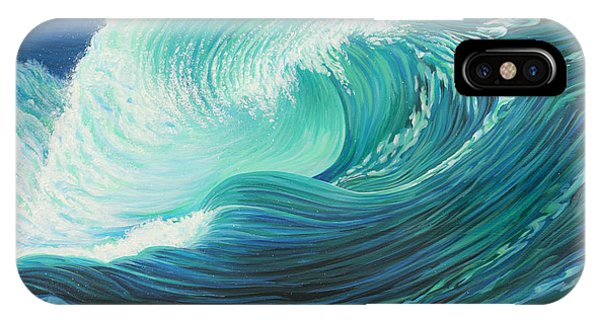 Stormy Wave IPhone Case