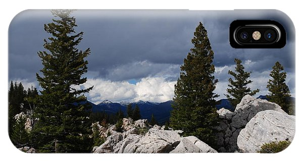 Stormy Yellowstone IPhone Case