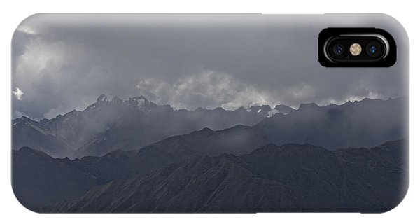 Storm Over The Andes IPhone Case