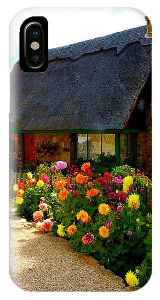 Storybook Cottage By The Sea IPhone Case