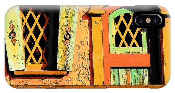 Storybook Window And Door IPhone Case