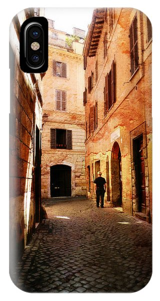 Strade Di Ciottoli IPhone Case