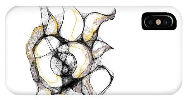 Surrealism iPhone Case - Strange Kind Of Flower by Danny Biz