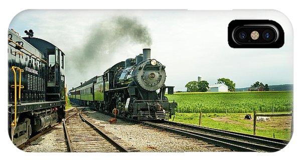 Strasburg Express IPhone Case