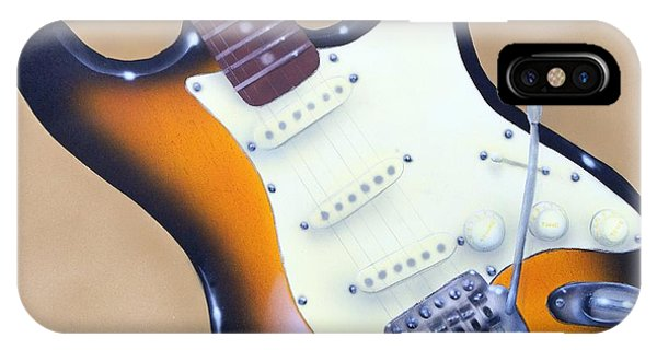 Strat O. Caster IPhone Case