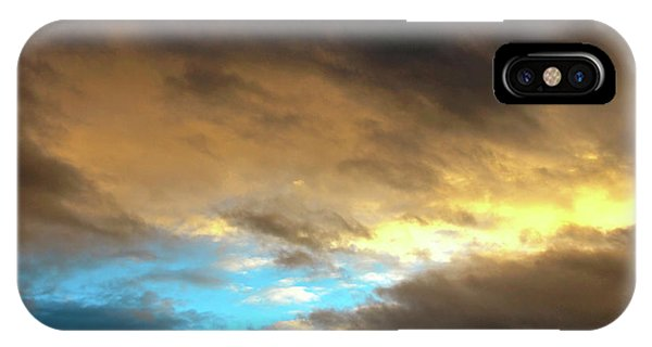 Stratus Clouds At Sunset Bring Serenity IPhone Case