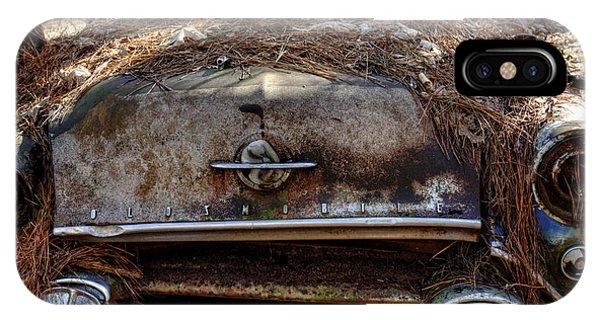 Straw Coverd Oldsmobile IPhone Case