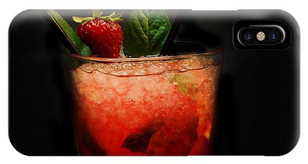 Strawberry Mojito IPhone Case