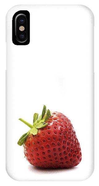 Strawberry Phone Case by Natalie Kinnear