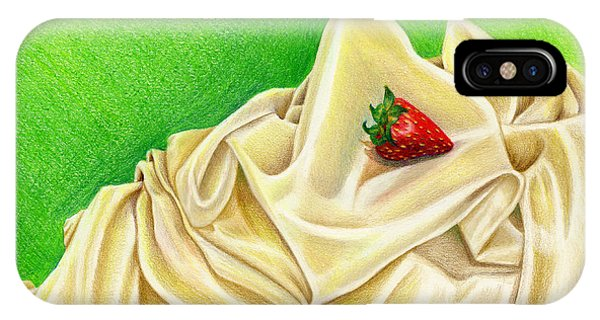 Strawberry Passion IPhone Case