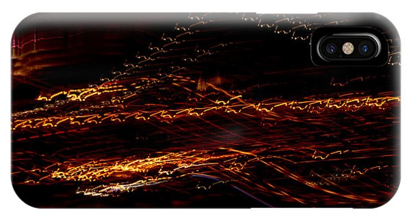 Streaks Across The Bridge IPhone Case