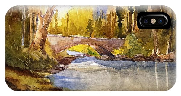 Stream And Bridge IPhone Case