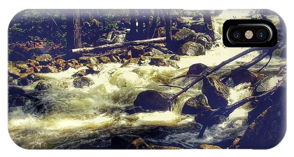 Stream Of Consciousness- Yosemite Phone Case by Laura Mazzuca