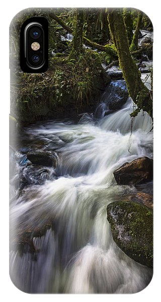 Stream On Eume River Galicia Spain IPhone Case