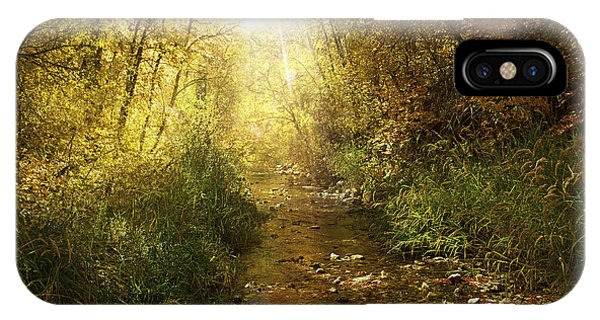 Streams Of Light IPhone Case