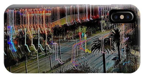 IPhone Case featuring the digital art Street Art II by Visual Artist Frank Bonilla