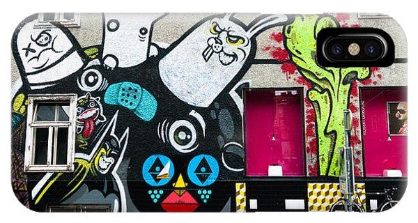 Street Art In Austria  Phone Case by Pedro Nunez