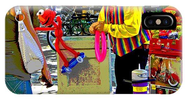 Street Balloon Art IPhone Case