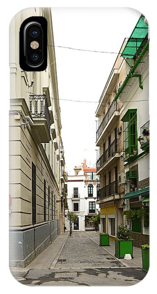 Street In Cadiz Spain IPhone Case