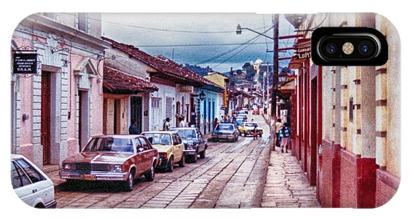 Street In Las Casas IPhone Case