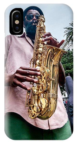 Street Jazz On Display IPhone Case