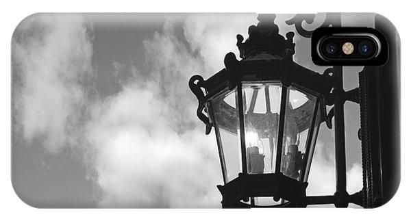 iPhone Case - Street Lamp by Tony Cordoza