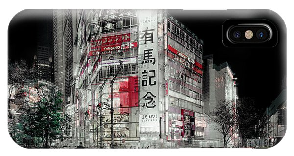 Double iPhone Case - Street Life In Tokyo by Carmine Chiriac??