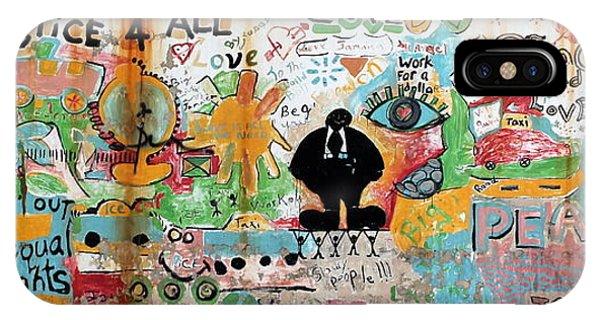 Street Mural At Liguanea IPhone Case