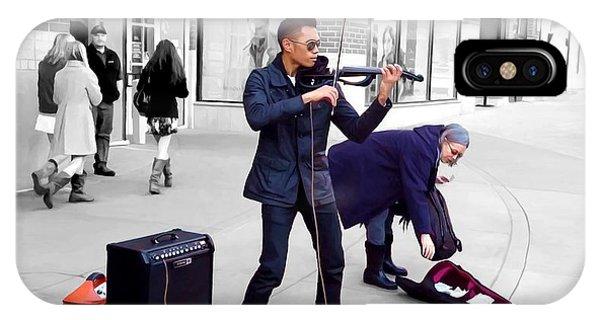 Street Musician Series #2 IPhone Case