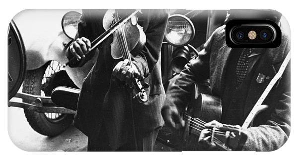 Street Musicians, 1935 Phone Case by Granger