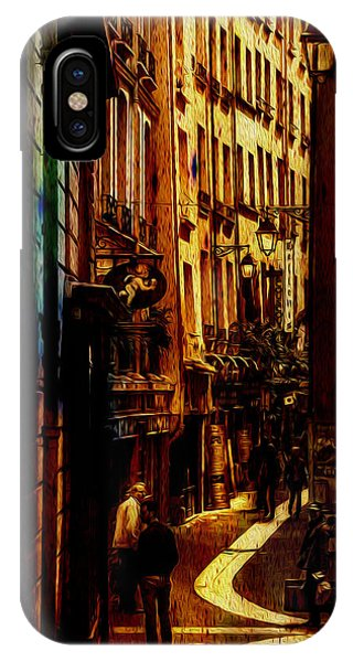 Street Of Paris IPhone Case