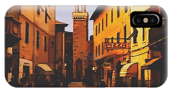 Street Scene IPhone Case