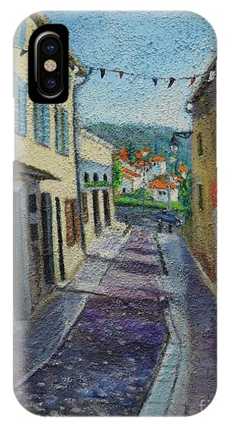 Street View From Provence IPhone Case