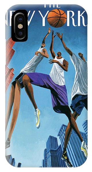 Streetball IPhone X Case